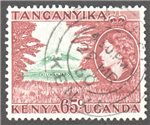 Kenya, Uganda and Tanganyika Scott 111 Used